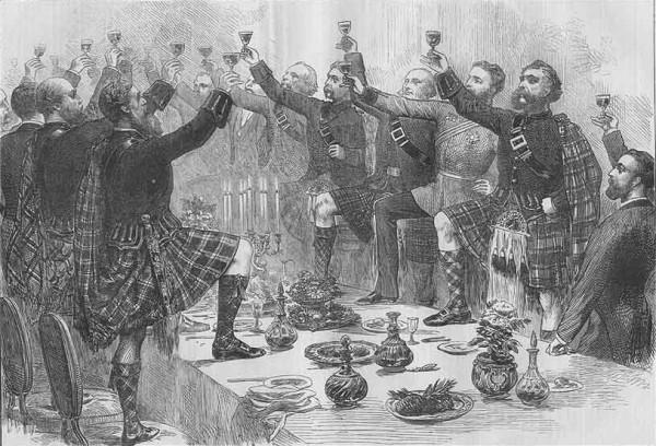 Highland Toast