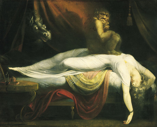 The Nightmare ~ 1781 by Henry Fuseli