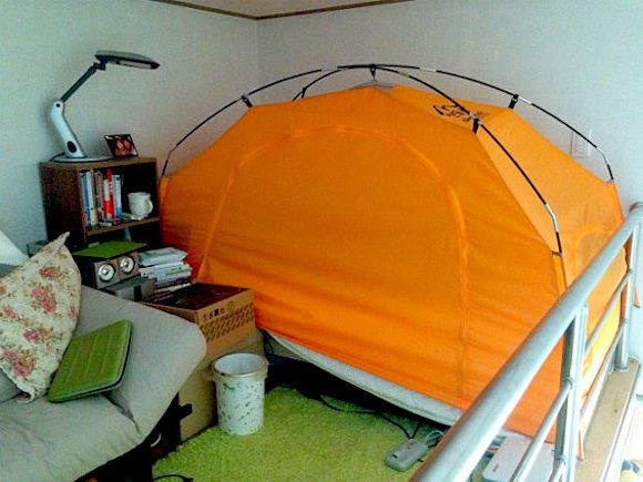 Bed Tent_2,چادر زدن در خانه