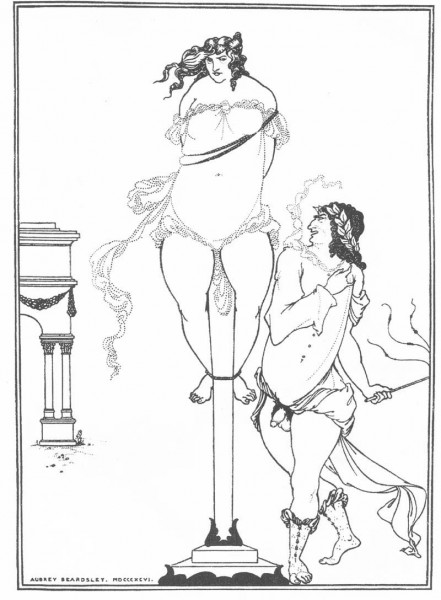 Juvenal Scourging a Woman